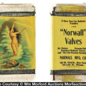 Norwall Valves Match Safe