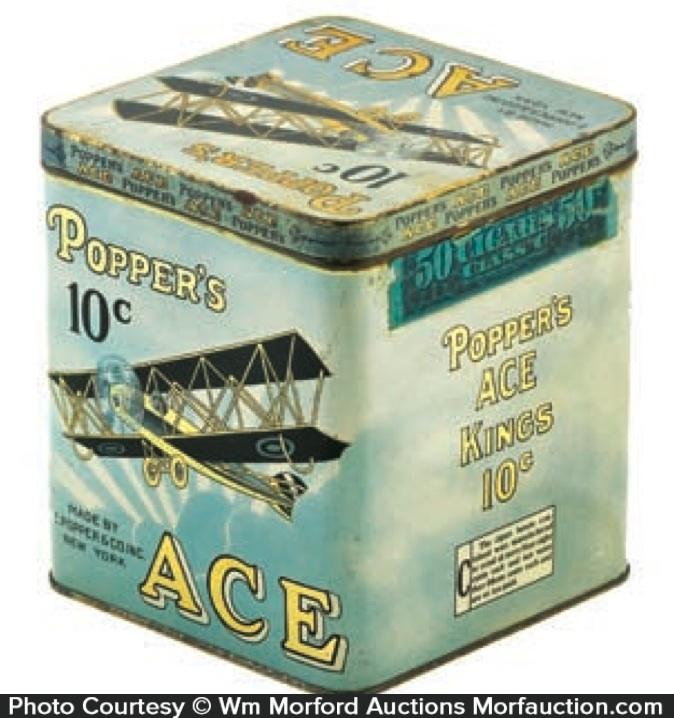 Poppers Ace Cigar Tin