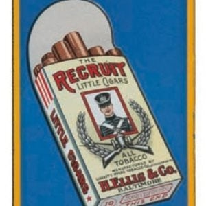 Recruit Cigars Door Push Sign