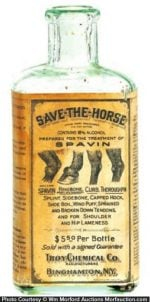 Save The Horse Spavin Bottle