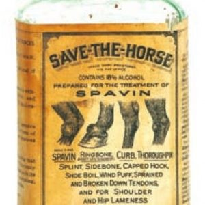 Save The Horse Spavin Bottle
