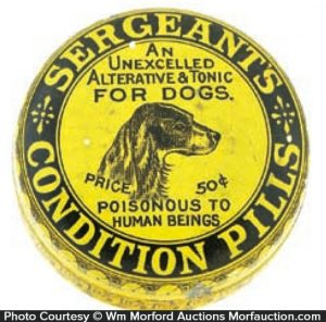 Sergeant's Condition Pills Tin