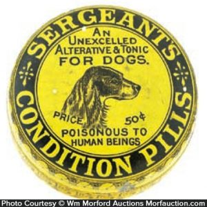 Sergeant's Condition Pills Tin