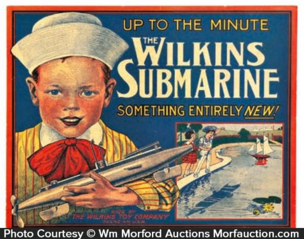Wilkins Submarine Sign