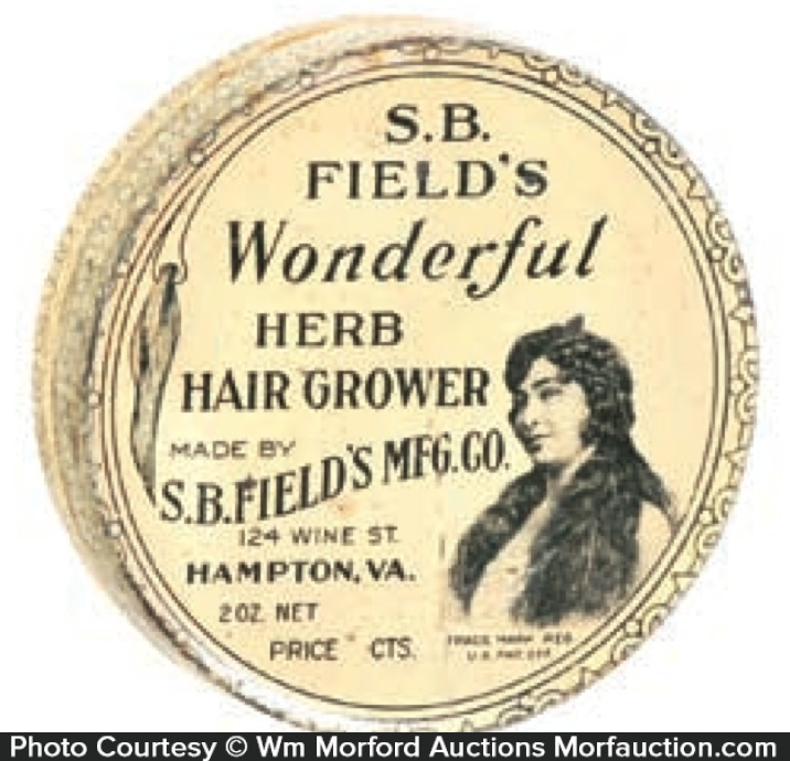 Field's Herb Hair Grower Tin