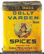 Dolly Varden Spice Tin