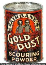 Gold Dust Sample Tin