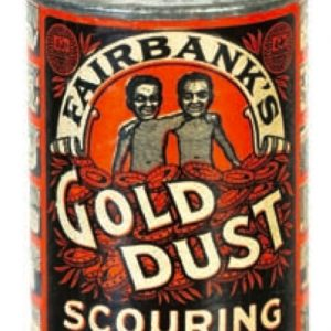 Gold Dust Sample Tin