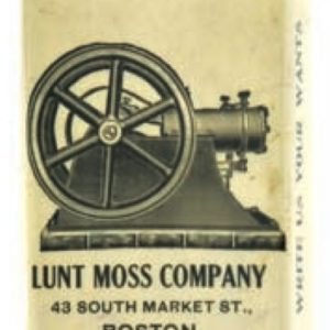 Lunt Moss Match Safe