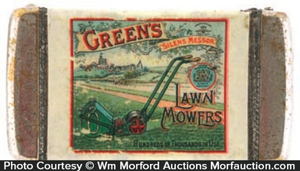 Green's Lawn Mower Match Safe