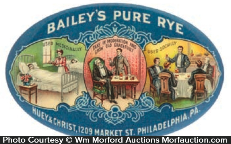 Bailey's Rye Mirror