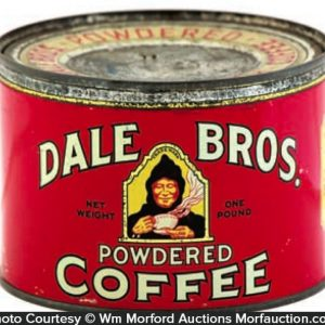 Dale Bros. Coffee Can