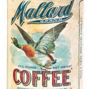 Mallard Coffee Can