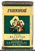 Ivanhoe Spice Tin