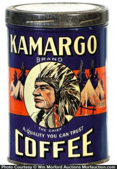 Kamargo Coffee Tin