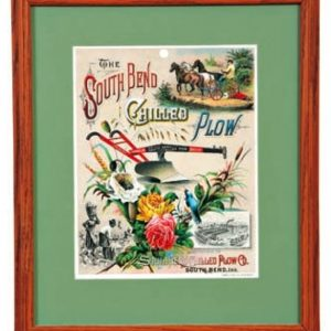 South Bend Plow Litho