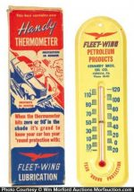 Fleet Wing Thermometer