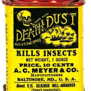 Death Dust Insect Tin