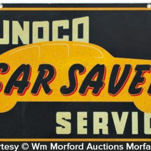 Sunoco Car Saver Sign