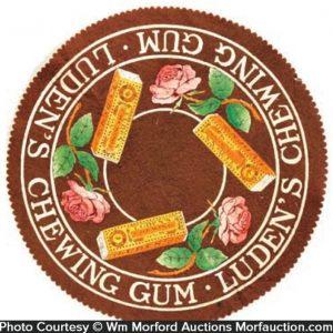 Luden's Gum Felt