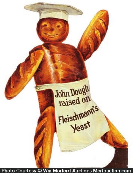 Fleishmann's Yeast Sign