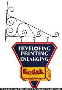 Kodak Hanging Sign