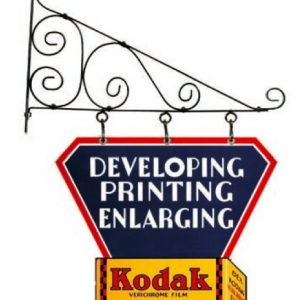 Kodak Hanging Sign