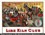 Lime Kiln Club Cigar Box Label