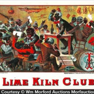 Lime Kiln Club Cigar Box Label