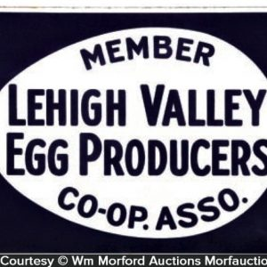 Lehigh Valley Egg Sign
