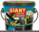 Giant Peanuts Pail
