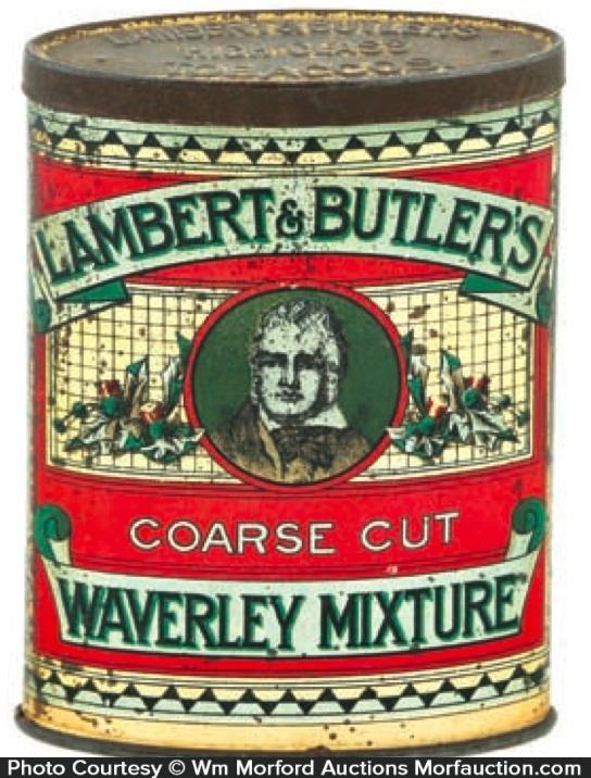 Waverly Mixture Tobacco Tin