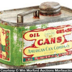 America Can Company Oil Can