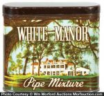 White Manor Tobacco Tin