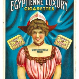 Egyptienne Cigarettes Sign
