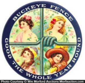 Buckeye Fence Mirror