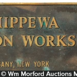Chippewa Wagon Works Sign