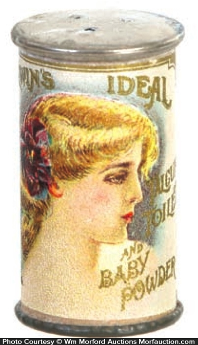 Ideal Talc Sample Tin