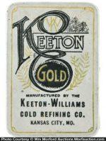 Keeton Gold Tin