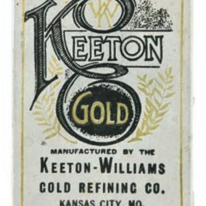 Keeton Gold Tin
