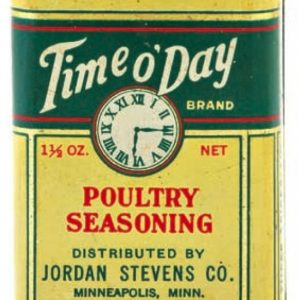 Time O'Day Spice Tin