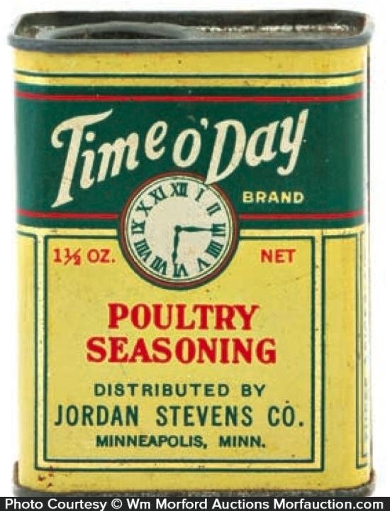Time O'Day Spice Tin