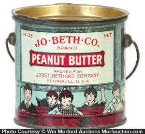 Jo-Beth Peanut Butter Pail