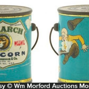 Monarch Teenie-Weenie Popcorn Tin