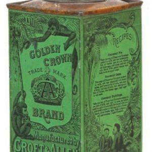 San Blas Cocoanut Tin