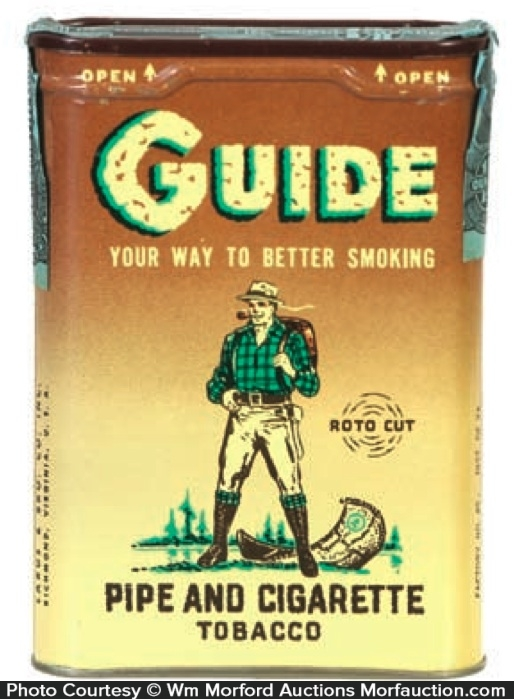 Guide Tobacco Tin