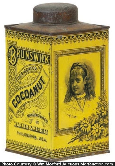 Brunswick Cocoanut Tin