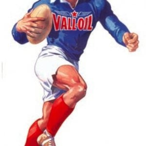 Vall Oil Football Sign