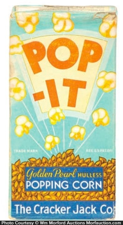 Pop-It Cracker Jack Popcorn