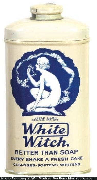 White Witch Powder Tin